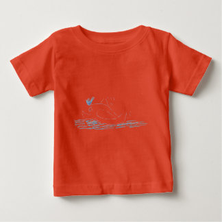 Wally Whale Children's T-shrt Baby T-Shirt