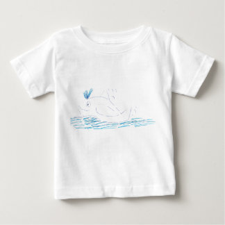 Wally Whale Jersey Babies t-shirt