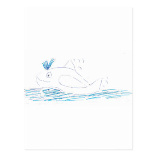 Wally Whale Postcards