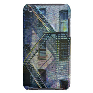 Wallz de Nyc Shadaw des bleus Coques Barely There iPod