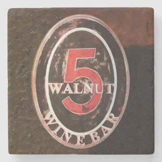 Walnut, Asheville Stone Coaster