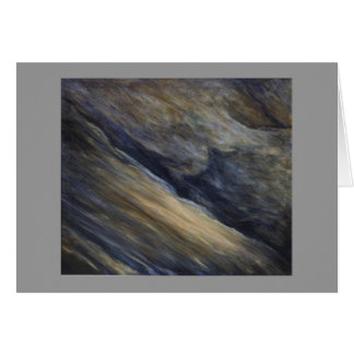 Walnut Canyon Acrylic Abstract Landscape Note Card