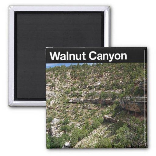 Walnut Canyon  NM Fridge Magnet