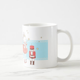 Walnut dividing doll coffee mug