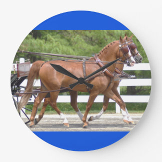 walnut hill carriage driving horse show large clock