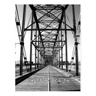 WALNUT STREET BRIDGE - CHATTANOOGA, TN POSTCARD