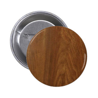 WALNUT WOOD American finish blank blanche + TEXT Buttons
