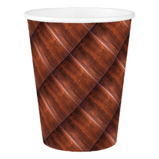 WALNUT WOOD WODDEN FINISH GIFTS PAPER CUP