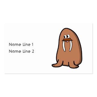 Walrus. Business Card Templates