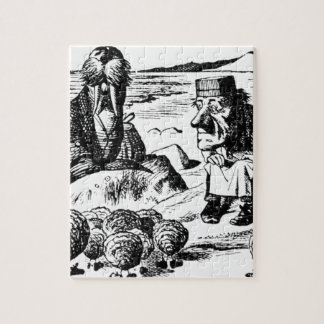 Walrus, Carpeter and Oysters Jigsaw Puzzle