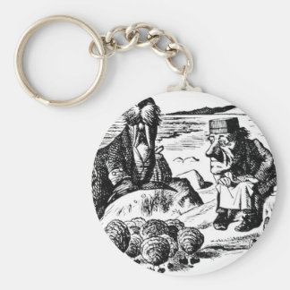 Walrus, Carpeter and Oysters Keychain