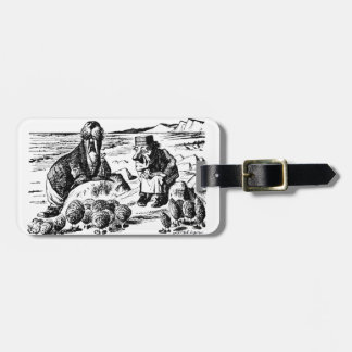 Walrus, Carpeter and Oysters Luggage Tag