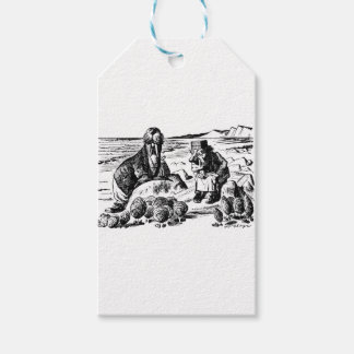 Walrus, Carpeter and Oysters Pack Of Gift Tags