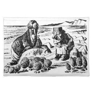 Walrus, Carpeter and Oysters Placemat