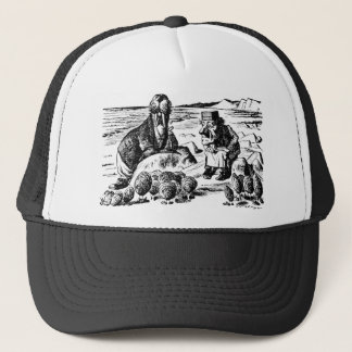 Walrus, Carpeter and Oysters Trucker Hat