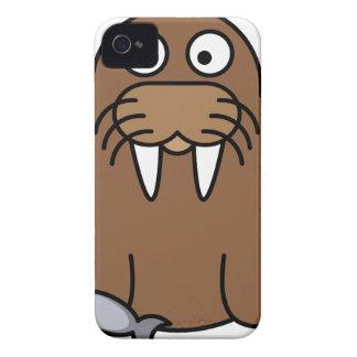 Walrus Cartoon iPhone 4 Case-Mate Case
