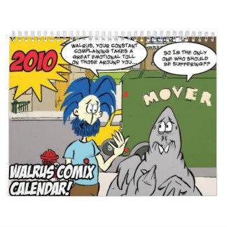 Walrus Comix 2010 Calendar