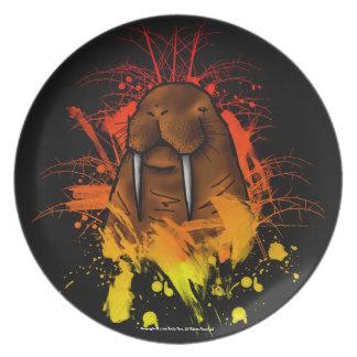 Walrus Dinner Plates