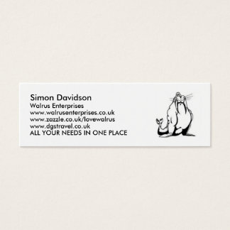 Walrus Enterprises Business Cards ...
