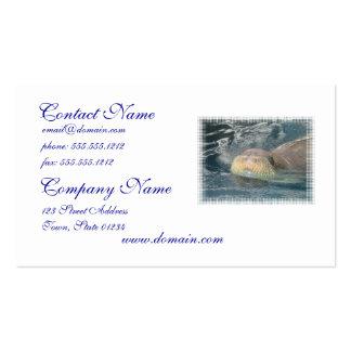 Walrus Face Business Card