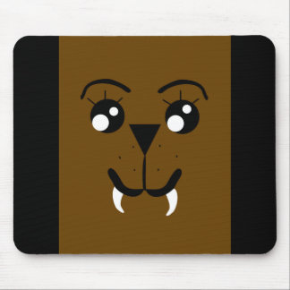 Walrus Face Mousepad