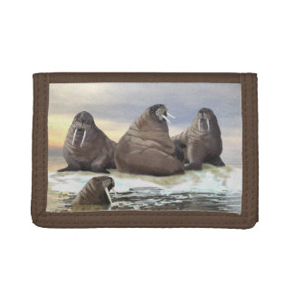 Walrus - Four Brothers Trifold Wallet