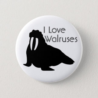 Walrus Love Button