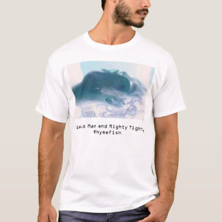 Walrus Man and Mighty Tighty Rhymefish Face T-Shirt
