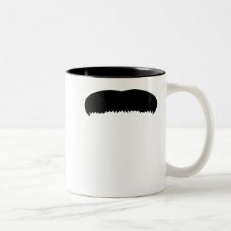 Walrus Mustache Two-Tone Mug