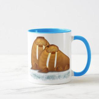 Walrus Pair on Ice Flow Mug