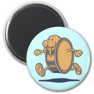 Walrus Run Drum Magnet