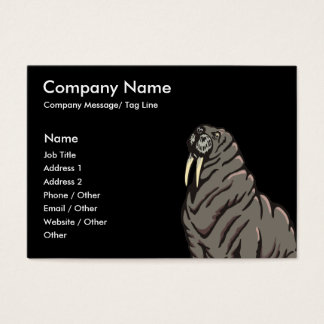 Walrus Template Business Card
