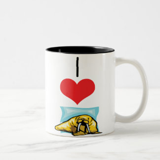 walrus Two-Tone coffee mug