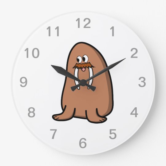 Walrus. Wallclocks