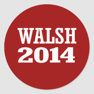 WALSH 2014 STICKERS
