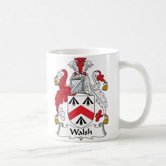 Walsh Family Crest Coffee Mug