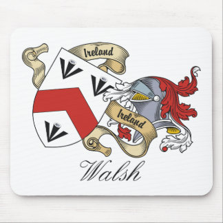 Walsh Family Crest Mouse Pad