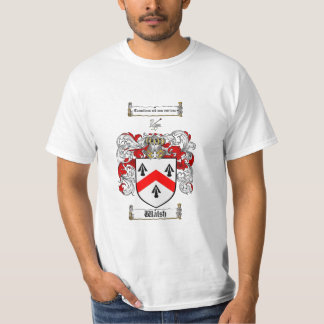 Walsh Family Crest - Walsh Coat of Arms T-Shirt