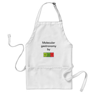 Walt periodic table name apron