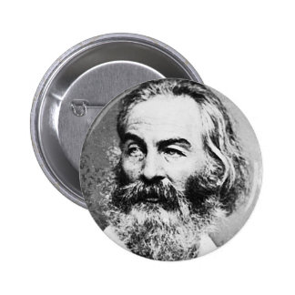 Walt Whitman 2 Inch Round Button