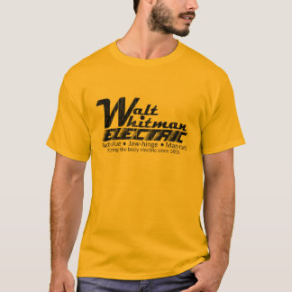 Walt Whitman Electric T-Shirt