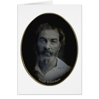 Walt Whitman Engagement and Wedding Quotation Card