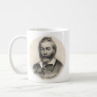 Walt Whitman Engraving, Age 41 Mugs