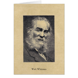 Walt Whitman ❝Happiness...❞ in the Moment Postcard