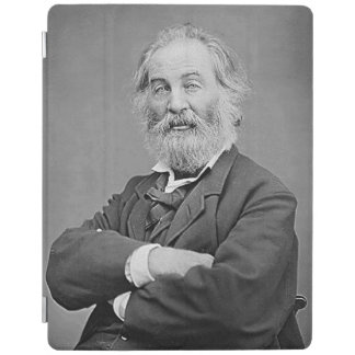 Walt Whitman Seated Portrait Photograph Age 47 iPad Cover