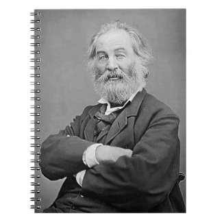 Walt Whitman Seated Portrait Photograph Age 47 Note Books