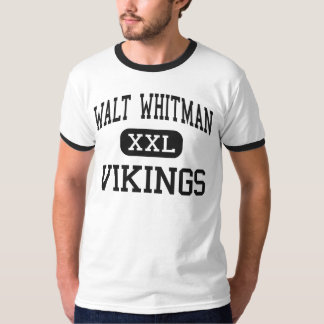 Walt Whitman - Vikings - High - Bethesda Maryland T-Shirt