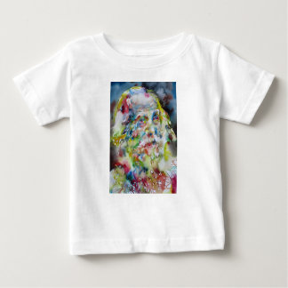 walt whitman - watercolor portrait baby T-Shirt