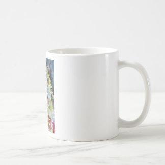walt whitman - watercolor portrait coffee mug