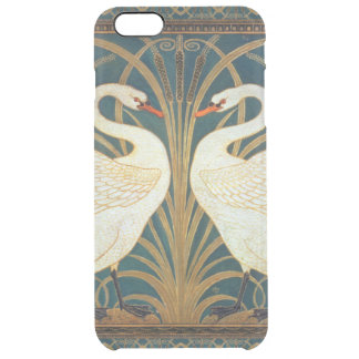 Walter Crane Swan, Rush And Iris Art Nouveau Clear iPhone 6 Plus Case